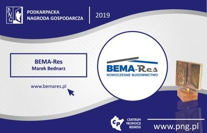 BEMA-RES ubiega się o Podkarpacką Nagrodę Gospodarczą
